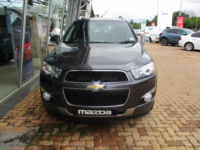 CHEVROLET CAPTIVA 2.2D LT A/T (2014-3) - (2016-2) Grey