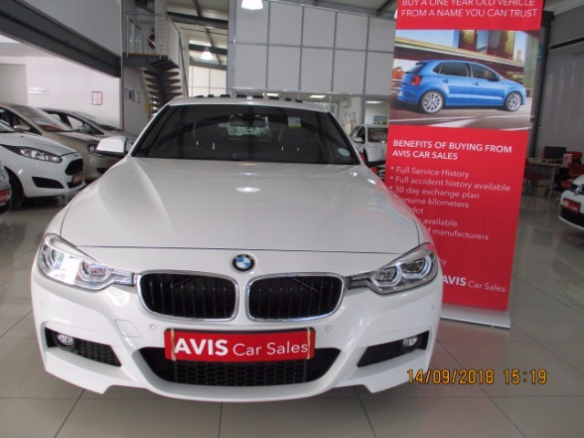 2018 White Bmw 320i M Sport A T F30 2015 8 2019 3 Only R 399900