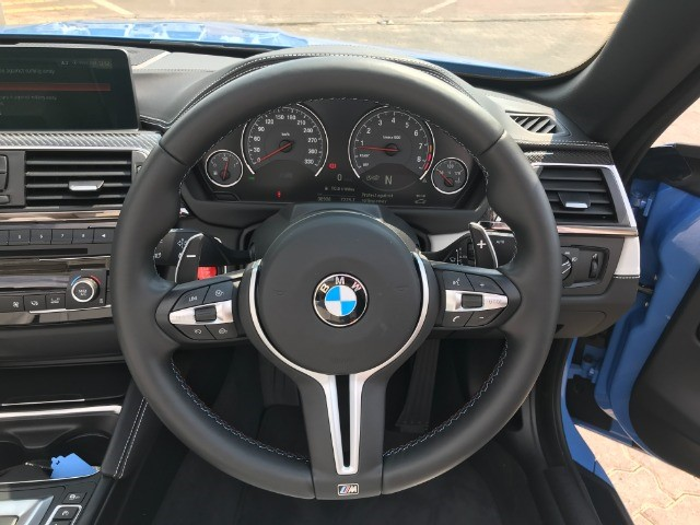 2019 BMW M4 CONVERTIBLE M-DCT (F83)