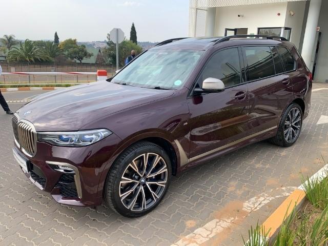 2020 BMW X7 M50i (G07)
